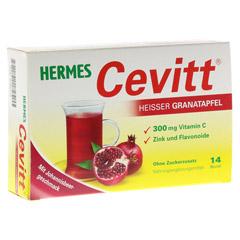 HERMES Cevitt heißer Granatapfel Granulat 14 Stück