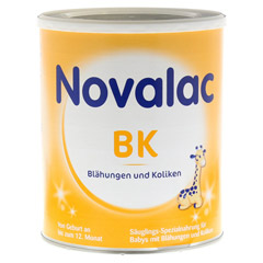 NOVALAC BK Spezialnahr.b.Bläh.u.Koliken 0-12 M. 800 Gramm