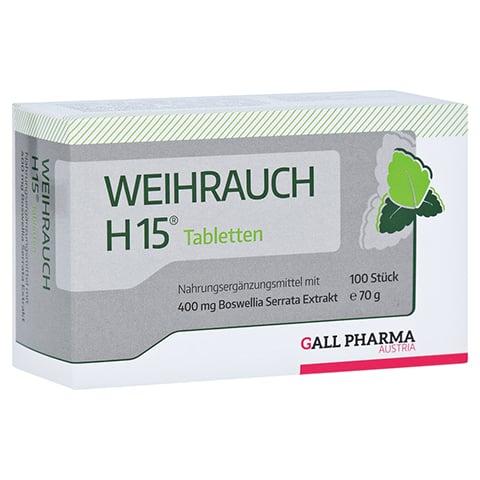 WEIHRAUCH H15 Tabletten 100 Stück