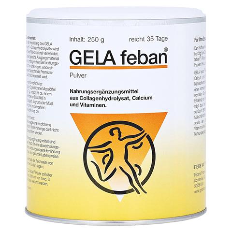 GELA FEBAN Pulver m.Gelatinehydrolysat plus 250 Gramm
