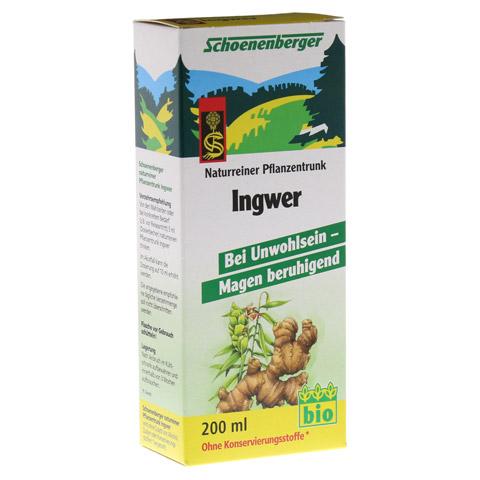 INGWER PFLANZENTRUNK Schoenenberger 200 Milliliter