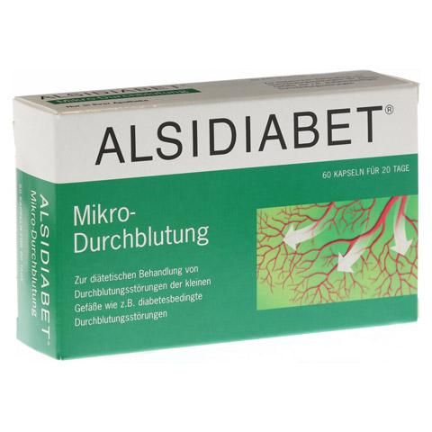 ALSIDIABET Diabetiker Mikro Durchblutung Kapseln 60 Stück