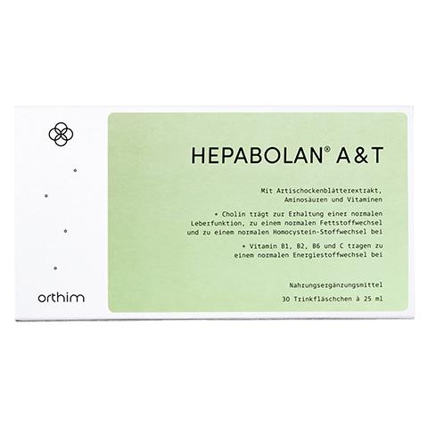 HEPABOLAN A&T Trinkampullen 30x25 Milliliter