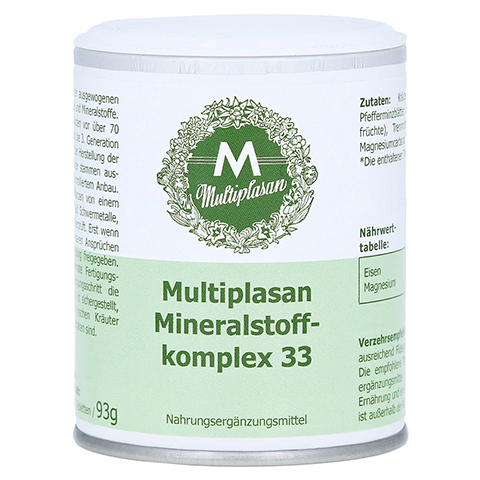 MULTIPLASAN Mineralstoffkomplex 33 Tabletten 350 Stück