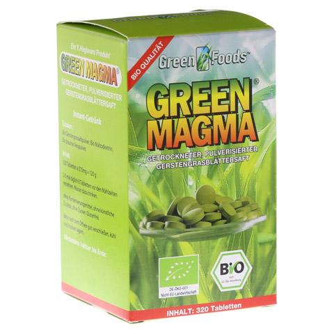 GREEN MAGMA Gerstengrasextrakt Tabletten 320 Stück