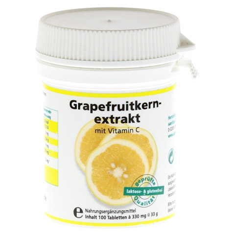 GRAPEFRUIT KERN Extrakt Tabletten 100 Stück