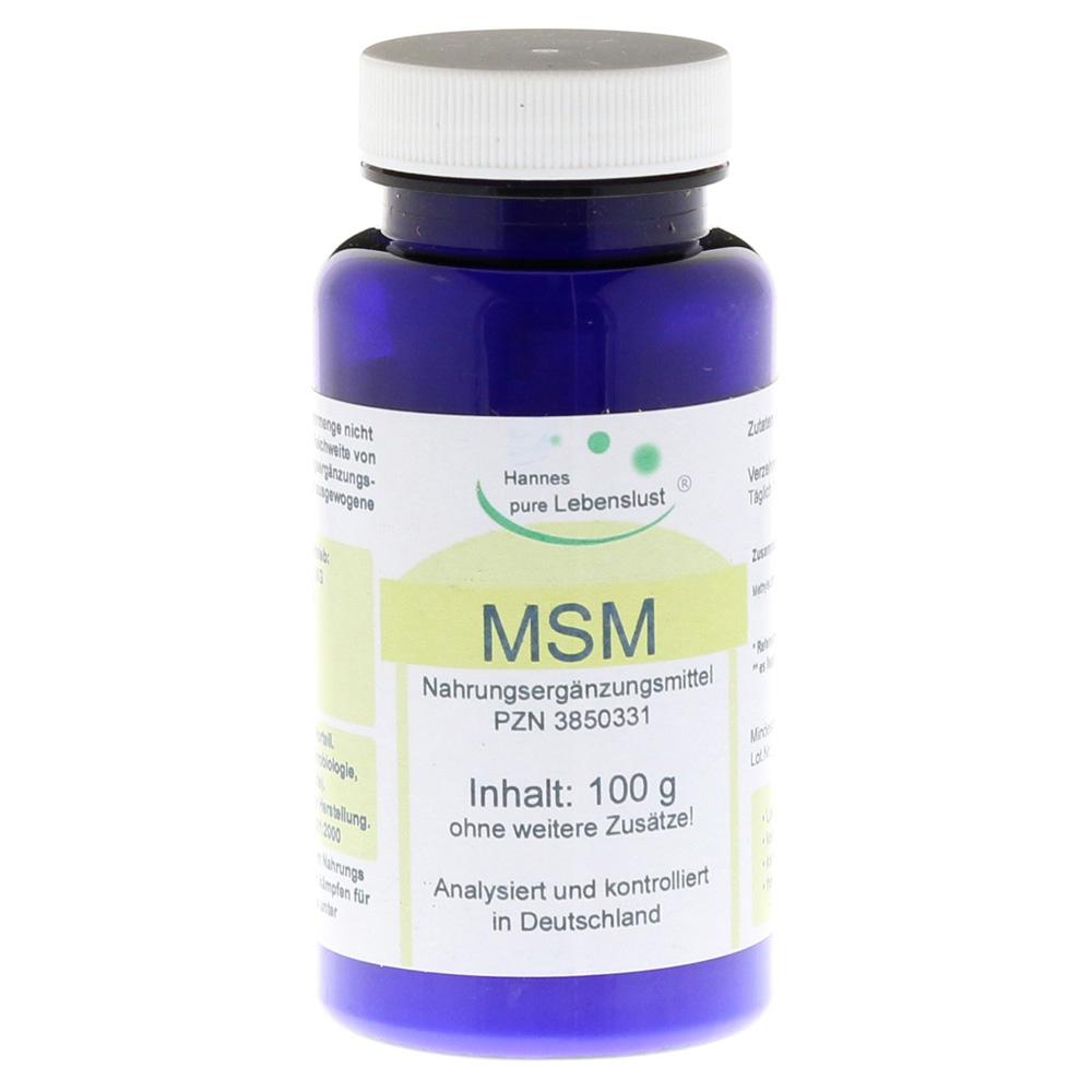 msm-pur-pulver-100-gramm