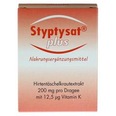 STYPTYSAT plus Dragees 60 Stück - Vorderseite