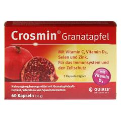 CROSMIN Granatapfel Kapseln 60 Stück - Vorderseite