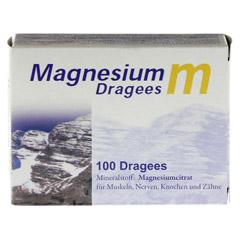 MAGNESIUM M Dragees 100 Stück - Vorderseite