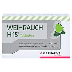 WEIHRAUCH H15 Tabletten 100 Stück - Vorderseite