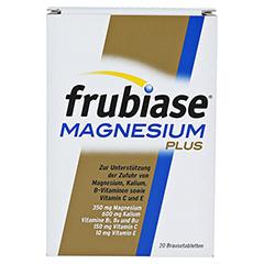 FRUBIASE MAGNESIUM Plus Brausetabletten 20 Stück - Vorderseite