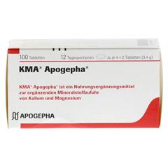 KMA Apogepha Tabletten 100 Stück - Vorderseite