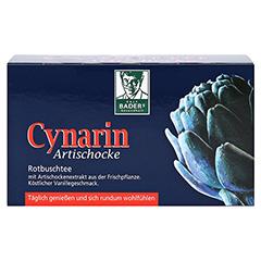 CYNARIN Artischocke Filterbeutel 20 Stück - Vorderseite