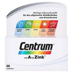 CENTRUM A-Zink+FloraGlo Lutein Caplette 60 Stück - Vorderseite