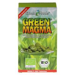 GREEN MAGMA Gerstengrasextrakt Tabletten 320 Stück - Vorderseite
