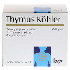 THYMUS KÖHLER Kapseln 90 Stück - Vorderseite
