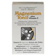MAGNESIUM TONIL plus Vitamin E Kapseln 100 Stück - Vorderseite
