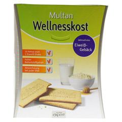 MULTAN Wellnesskost Protein-Gebäck 12x5 Stück - Vorderseite