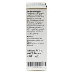 REGAZYM Plus Syxyl Tabletten 60 Stück - Linke Seite