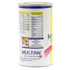 MULTAN mit L-Carnitin Pulver 500 Gramm - Linke Seite