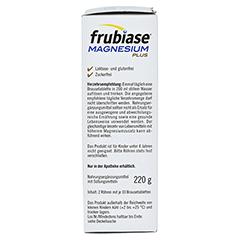 FRUBIASE MAGNESIUM Plus Brausetabletten 20 Stück - Linke Seite