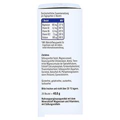 TAXOFIT Magnesium 400+B1+B6+B12+Folsäure 800 Gran. 20 Stück - Linke Seite