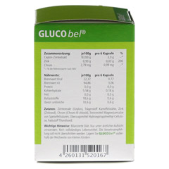 GLUCOBEL Diabetikerkapseln 90 Stück - Linke Seite
