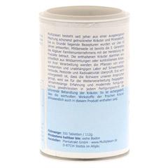 MULTIPLASAN Mineralstoffkompex 17 Tabletten 350 Stück - Linke Seite