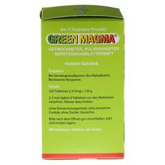 GREEN MAGMA Gerstengrasextrakt Tabletten 320 Stück - Linke Seite