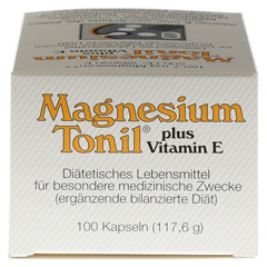 MAGNESIUM TONIL plus Vitamin E Kapseln 100 Stück - Linke Seite