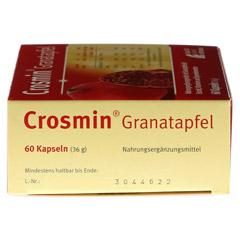 CROSMIN Granatapfel Kapseln 60 Stück - Rechte Seite