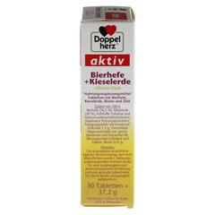 DOPPELHERZ Bierhefe+Kieselerde Tabletten 30 Stück - Rechte Seite