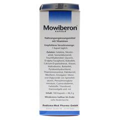 MOWIBERON Kapseln 100 Stück - Rechte Seite
