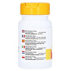 BETA CAROTIN KAPSELN 15 mg 100 Stück - Rechte Seite