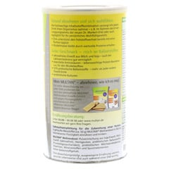 MULTAN Wellnesskost Pulver 500 Gramm - Rechte Seite