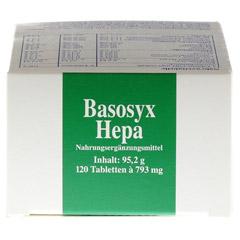 BASOSYX Hepa Syxyl Tabletten 120 Stück - Oberseite