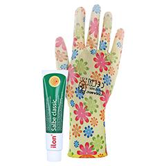 Ilon Salbe classic + gratis Gartenhandschuhe (verschiedene Farben) 50 Gramm N2