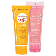 BIODERMA Photoderm Max Creme SPF 50+ ungetönt + gratis BIODERMA Sensibio Gel 45 ml 40 Milliliter