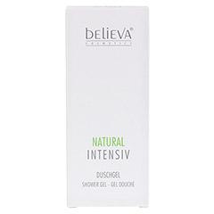 BELIEVA Natural Intensiv Duschgel 200 Milliliter - Vorderseite