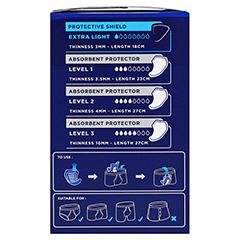 TENA MEN extra light Einlagen 8x14 Stück - Rechte Seite