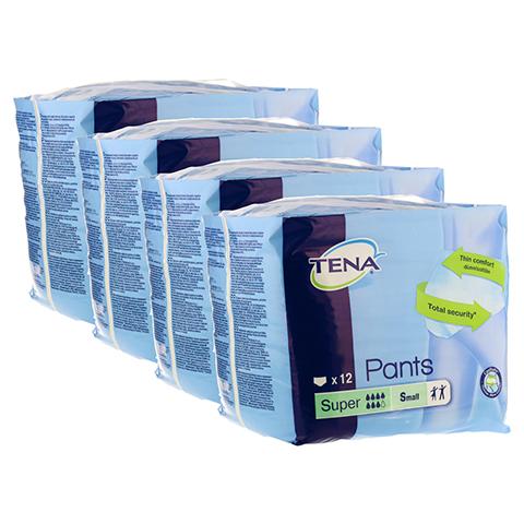 TENA PANTS super S 65-85 cm ConfioFit Einweghose 4x12 Stück