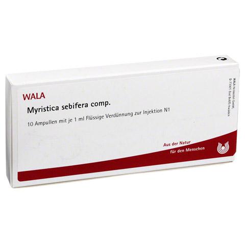 MYRISTICA SEBIFERA COMP.Ampullen 10x1 Milliliter N1