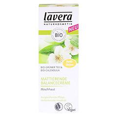 LAVERA mattierende Balancecreme grüner Tee 50 Milliliter - Vorderseite