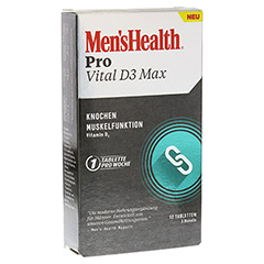 MEN'S HEALTH Pro Vital D3 Max Tabletten 12 Stück