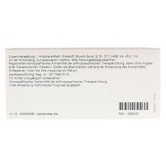BRONCHI GL D 12 Ampullen 10x1 Milliliter N1 - R�ckseite