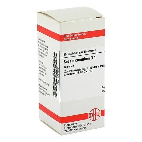 SECALE CORNUTUM D 4 Tabletten 80 St�ck N1