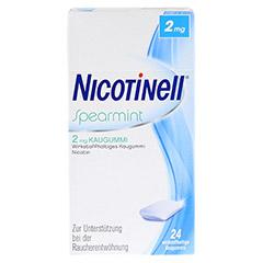 Nicotinell 2mg Spearmint 24 Stück - Vorderseite
