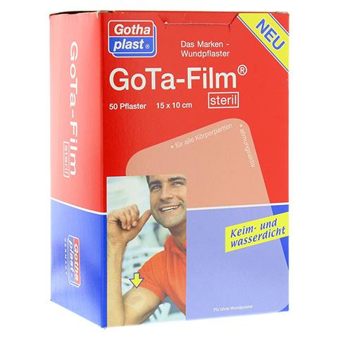 GOTA FILM steril 15x10cm Pflaster 50 Stück