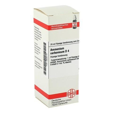 AMMONIUM CARBONICUM D 4 Dilution 20 Milliliter N1